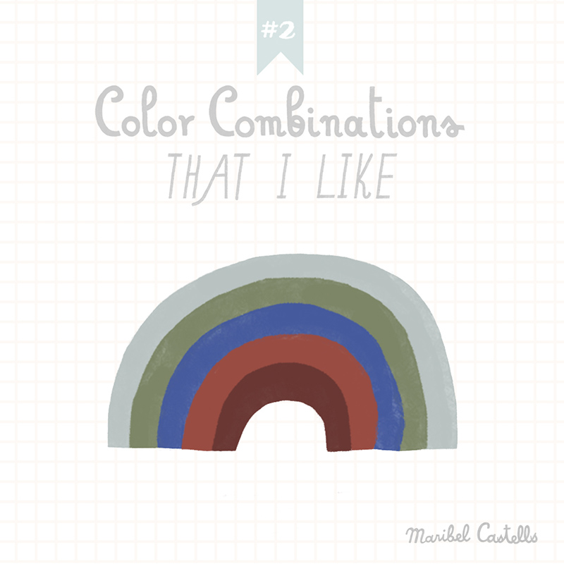 Color Combinations that I like